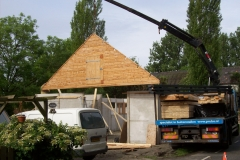 Prubo paardenstallen bouwproces